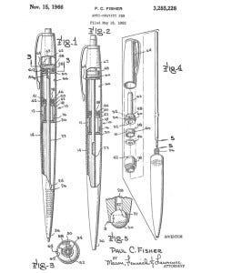 space-pen-patent