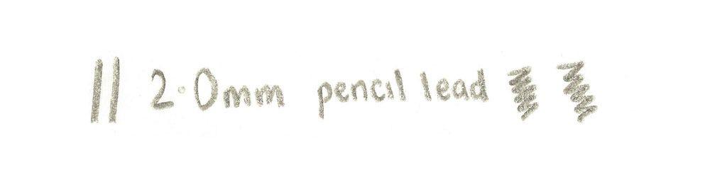 2.0mm lead writing
