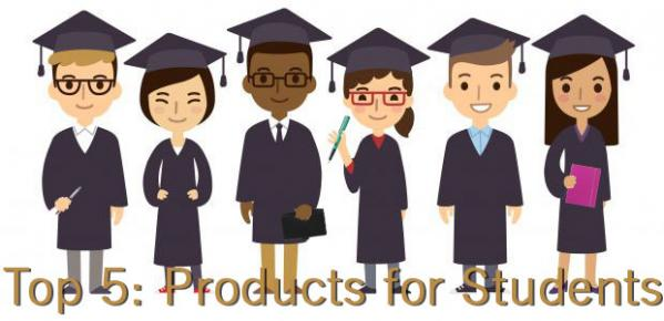 Top 5: Products for Students
