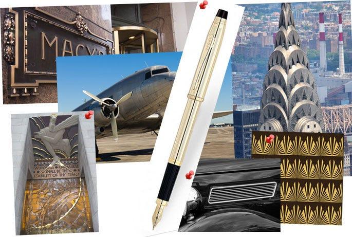How Art Deco Influenced Cross Pens