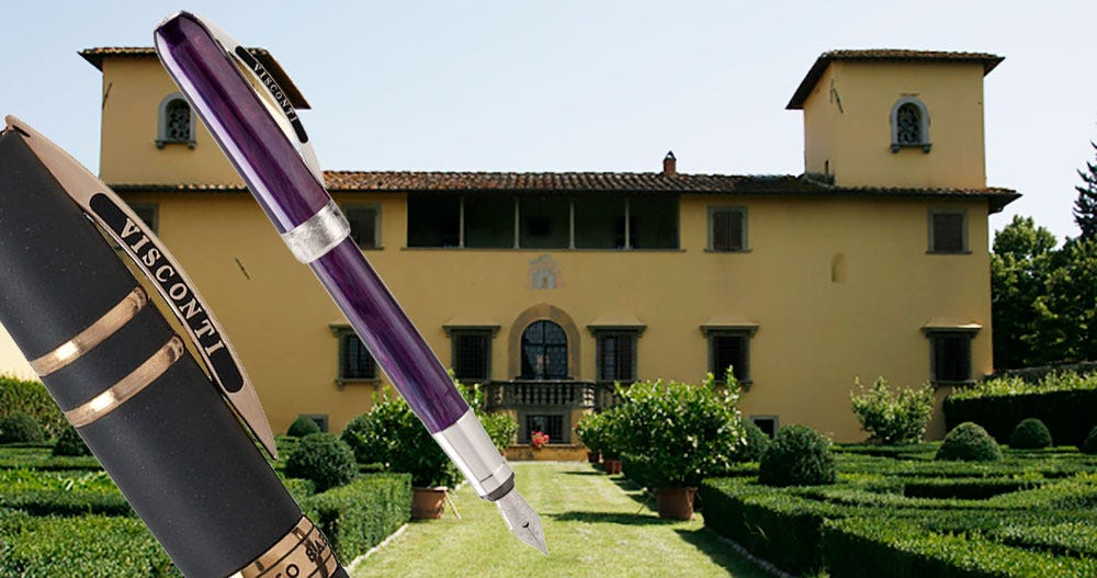 About Visconti - Pure Italian Style